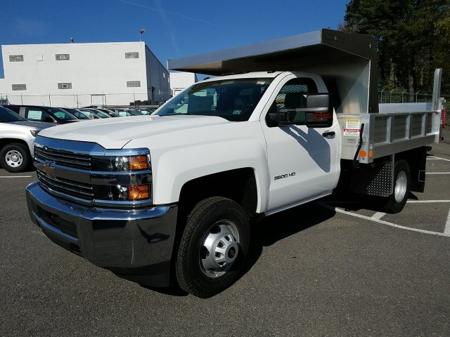 2018 Silverado 3500 Regular Cab DRW 4x4, Duramag Dump Dump Body #JZ239727 - photo 1