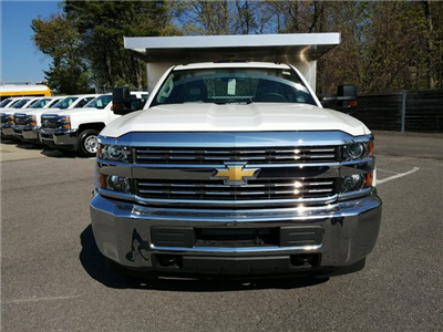 2018 Silverado 3500 Regular Cab DRW 4x4, Duramag Dump Dump Body #JZ239727 - photo 5