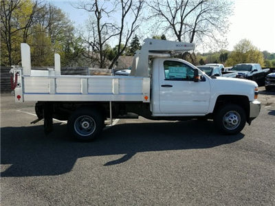 2018 Silverado 3500 Regular Cab DRW 4x4, Duramag Dump Dump Body #JZ239727 - photo 8
