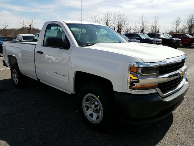 2018 Silverado 1500 Regular Cab 4x2,  Pickup #JZ258428 - photo 3
