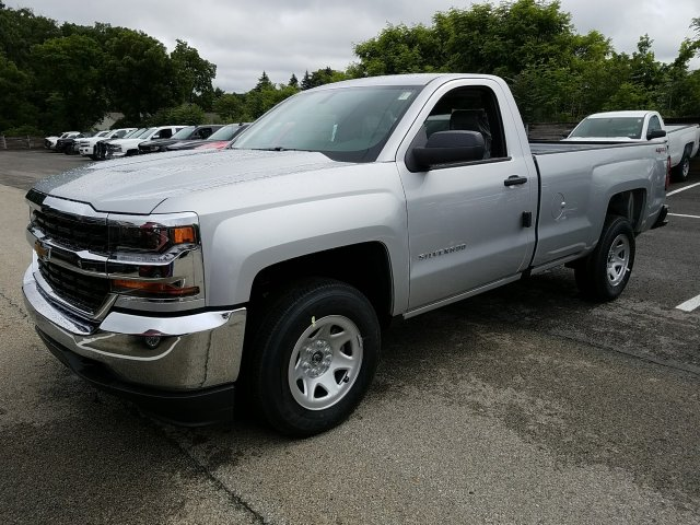 2018 Silverado 1500 Regular Cab 4x4,  Pickup #JZ355822 - photo 1