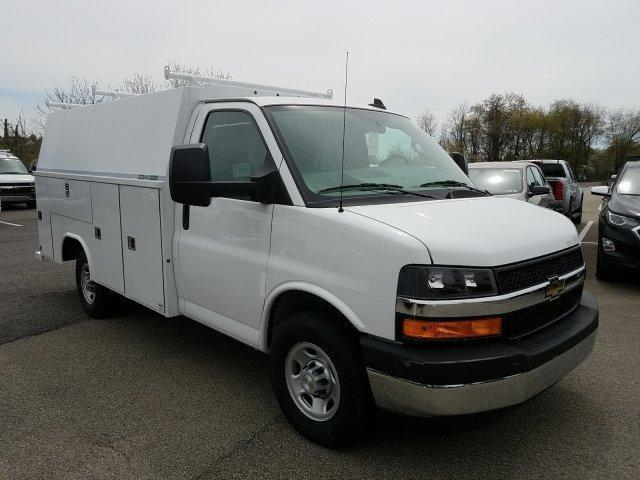 2019 Express 3500 4x2,  Reading Aluminum CSV Service Utility Van #K1208355 - photo 3