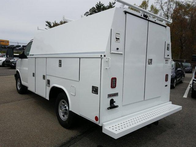 2019 Express 3500 4x2,  Reading Aluminum CSV Service Utility Van #K1208355 - photo 2