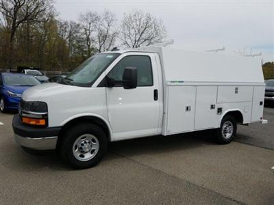 2019 Express 3500 4x2,  Reading Aluminum CSV Service Utility Van #K1208355 - photo 5