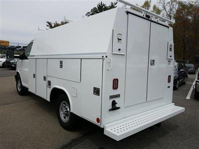 2019 Express 3500 4x2,  Reading Aluminum CSV Service Utility Van #K1208355 - photo 2