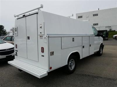 2019 Express 3500 4x2,  Reading Aluminum CSV Service Utility Van #K1208355 - photo 7