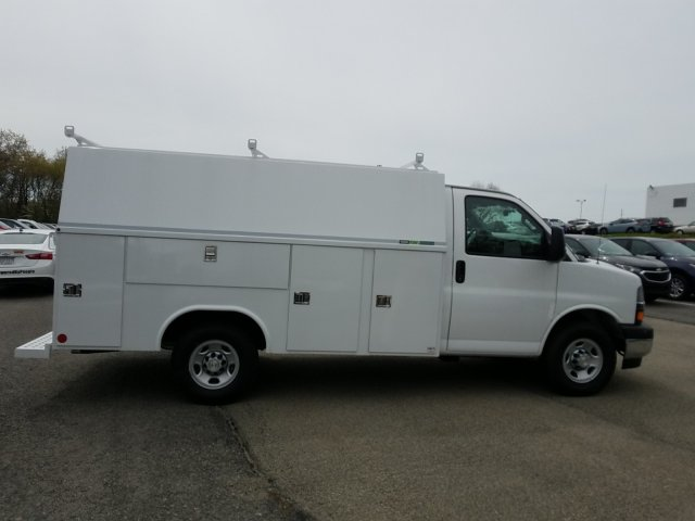 2019 Express 3500 4x2,  Reading Aluminum CSV Service Utility Van #K1210206 - photo 8