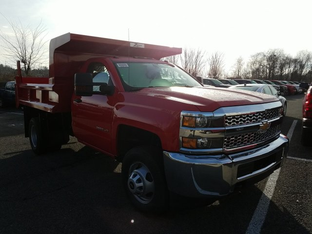 2019 Silverado 3500 Regular Cab DRW 4x4,  Rugby Dump Body #KF154033 - photo 3