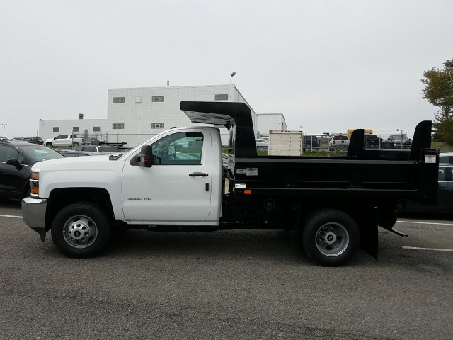 2019 Silverado 3500 Regular Cab DRW 4x4,  Rugby Z-Spec Dump Body #KF220698 - photo 5