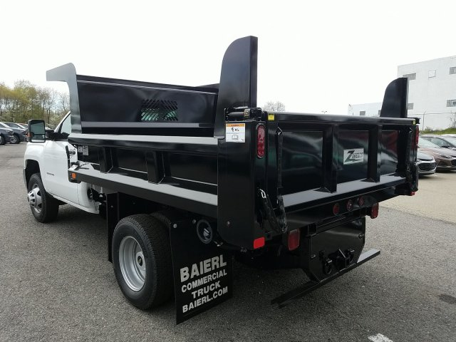 2019 Silverado 3500 Regular Cab DRW 4x4,  Rugby Dump Body #KF220698 - photo 1