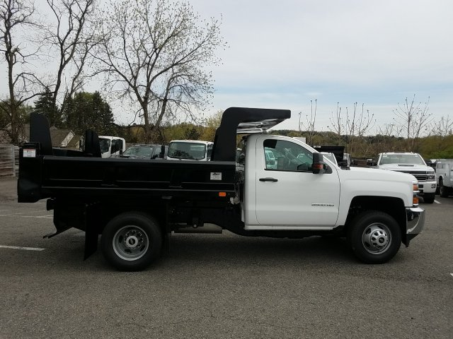 2019 Silverado 3500 Regular Cab DRW 4x4,  Rugby Z-Spec Dump Body #KF220698 - photo 8