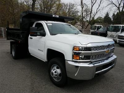 2019 Silverado 3500 Regular Cab DRW 4x4,  Rugby Z-Spec Dump Body #KF220698 - photo 3