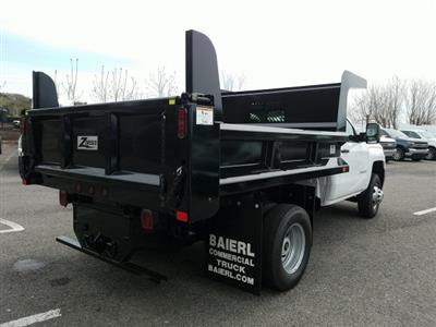 2019 Silverado 3500 Regular Cab DRW 4x4,  Rugby Z-Spec Dump Body #KF220698 - photo 7