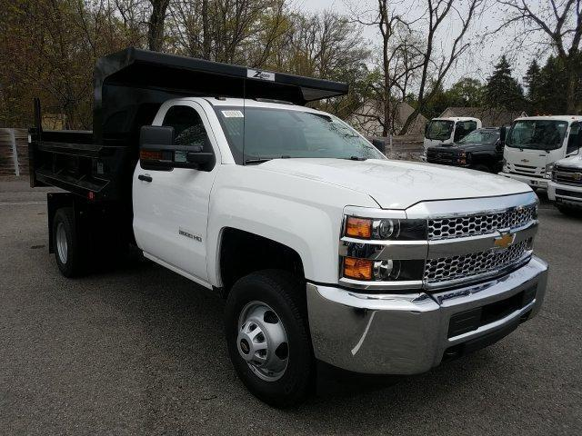 2019 Silverado 3500 Regular Cab DRW 4x4,  Rugby Dump Body #KF220993 - photo 1