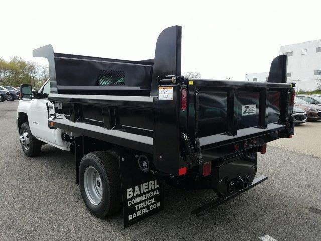 2019 Silverado 3500 Regular Cab DRW 4x4,  Rugby Z-Spec Dump Body #KF221545 - photo 6
