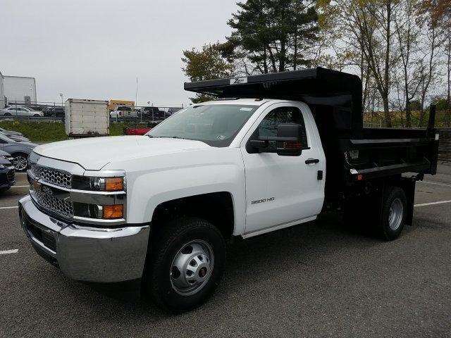 2019 Silverado 3500 Regular Cab DRW 4x4,  Rugby Z-Spec Dump Body #KF221944 - photo 4