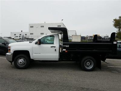 2019 Silverado 3500 Regular Cab DRW 4x4,  Rugby Z-Spec Dump Body #KF221944 - photo 5