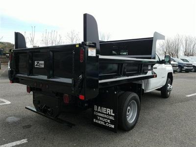 2019 Silverado 3500 Regular Cab DRW 4x4,  Rugby Z-Spec Dump Body #KF221944 - photo 2