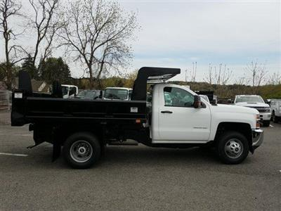2019 Silverado 3500 Regular Cab DRW 4x4,  Rugby Z-Spec Dump Body #KF221944 - photo 8