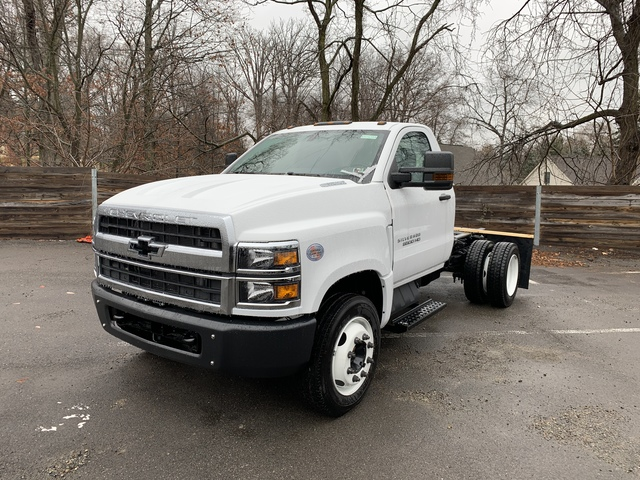 2019 Chevrolet Silverado Medium Duty Regular Cab DRW 4x2, Rugby Dump Body #KH146434 - photo 1