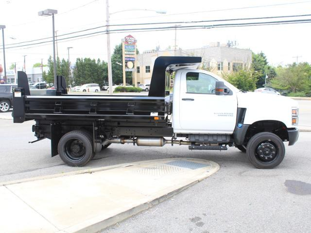 2019 Silverado Medium Duty Crew Cab DRW 4x4, Rugby Z-Spec Dump Body #KH827527 - photo 3