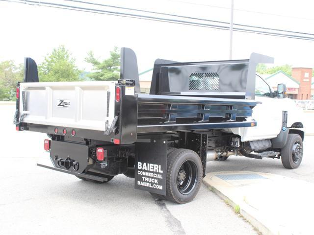 2019 Silverado Medium Duty Crew Cab DRW 4x4, Rugby Z-Spec Dump Body #KH827527 - photo 2