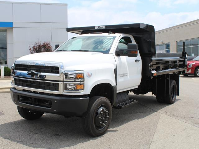 2019 Silverado Medium Duty Crew Cab DRW 4x4, Rugby Z-Spec Dump Body #KH827527 - photo 7