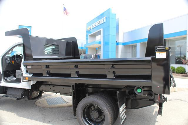 2019 Silverado Medium Duty Crew Cab DRW 4x4, Rugby Z-Spec Dump Body #KH827527 - photo 9