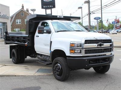 2019 Silverado Medium Duty Crew Cab DRW 4x4, Rugby Z-Spec Dump Body #KH827527 - photo 1