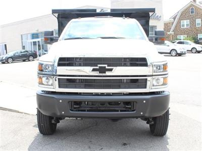 2019 Silverado Medium Duty Crew Cab DRW 4x4, Rugby Z-Spec Dump Body #KH827527 - photo 8