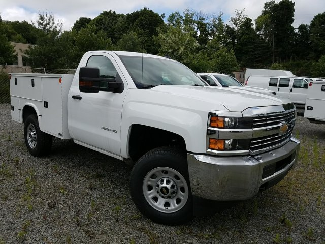 2017 Silverado 3500 Regular Cab 4x4, Knapheide Standard Service Body #V250623 - photo 3