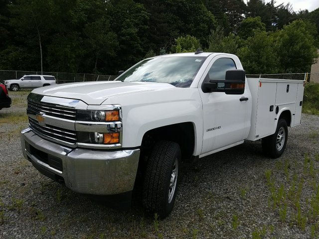 2017 Silverado 3500 Regular Cab 4x4, Knapheide Standard Service Body #V250623 - photo 1