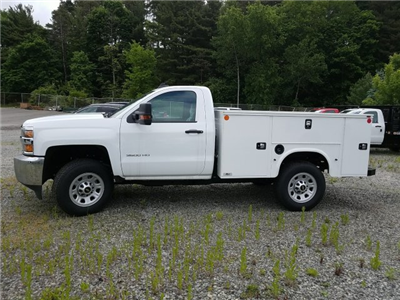 2017 Silverado 3500 Regular Cab 4x4, Knapheide Standard Service Body #V250623 - photo 5