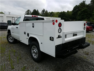 2017 Silverado 3500 Regular Cab 4x4, Knapheide Standard Service Body #V250623 - photo 2