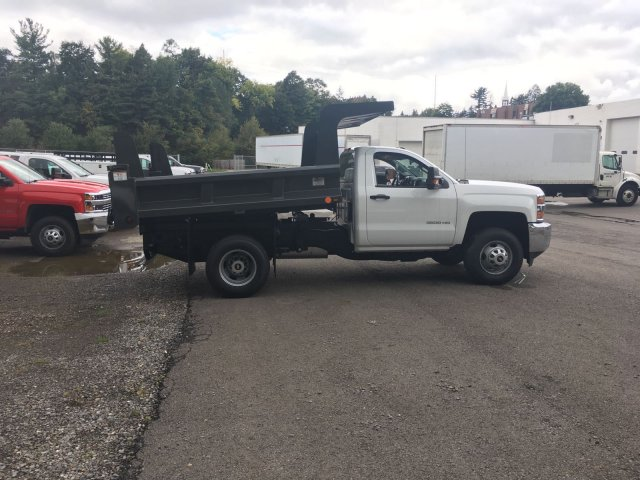 2017 Silverado 3500 Regular Cab DRW, Rugby Dump Body #V269178 - photo 8
