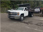 2017 Silverado 3500 Regular Cab DRW, Rugby Dump Body #V269178 - photo 1