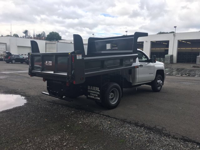 2017 Silverado 3500 Regular Cab DRW 4x4, Rugby Dump Body #V307192 - photo 7