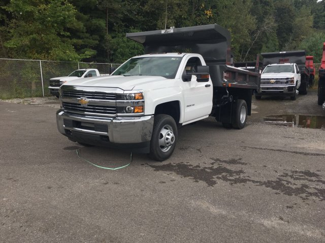 2017 Silverado 3500 Regular Cab DRW 4x4, Rugby Z-Spec Dump Body #V307192 - photo 1