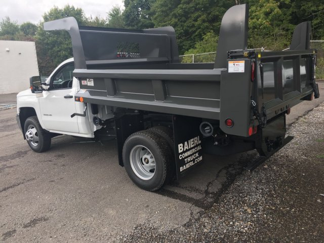2017 Silverado 3500 Regular Cab DRW 4x4, Rugby Dump Body #V307192 - photo 2