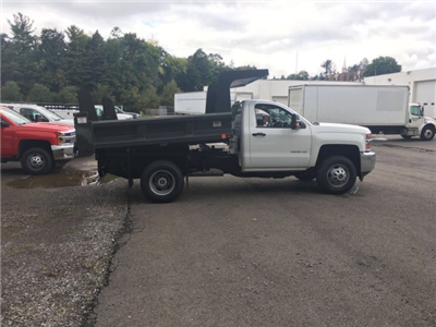 2017 Silverado 3500 Regular Cab DRW 4x4, Rugby Z-Spec Dump Body #V307192 - photo 8