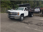 2017 Silverado 3500 Regular Cab DRW 4x4, Rugby Dump Body #V307192 - photo 1