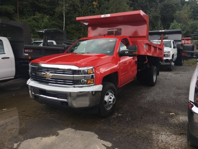 2017 Silverado 3500 Regular Cab DRW 4x4, Rugby Z-Spec Dump Body #VJ0641 - photo 1