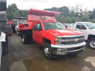 2017 Silverado 3500 Regular Cab DRW 4x4, Rugby Z-Spec Dump Body #VJ0641 - photo 3