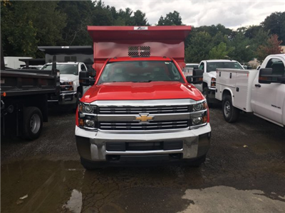 2017 Silverado 3500 Regular Cab DRW 4x4, Rugby Z-Spec Dump Body #VJ0641 - photo 4