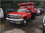 2017 Silverado 3500 Regular Cab DRW 4x4, Rugby Dump Body #VJ0641 - photo 1
