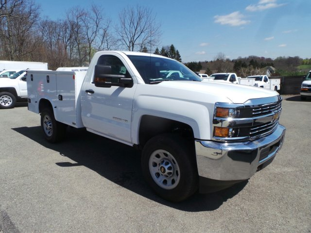 2017 Silverado 3500 Regular Cab 4x4, Knapheide Service Body #VJ0642 - photo 3