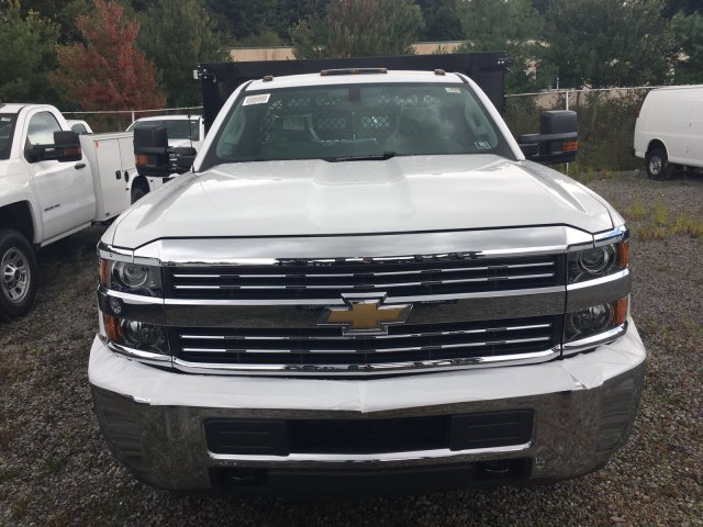 2017 Silverado 3500 Regular Cab DRW, Knapheide Value-Master X Stake Bed #VJ1183 - photo 5