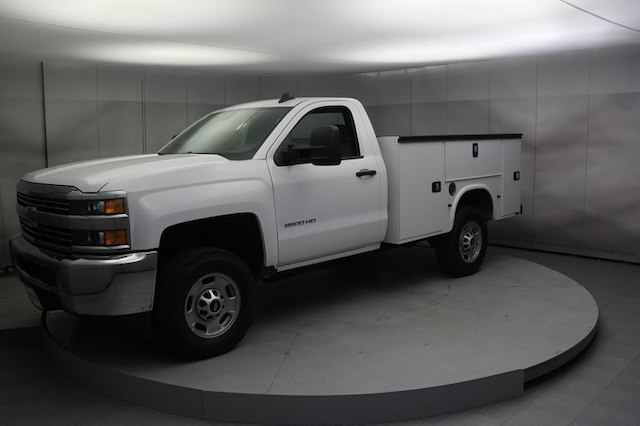 2017 Silverado 2500 Regular Cab 4x4,  Service Body #C170920 - photo 10