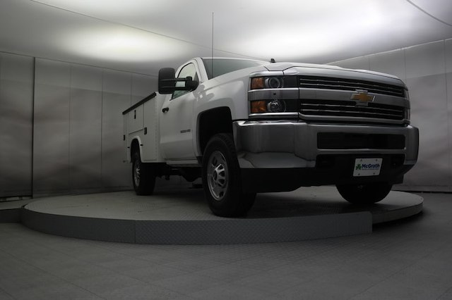 2017 Silverado 2500 Regular Cab 4x4,  Service Body #C170920 - photo 30