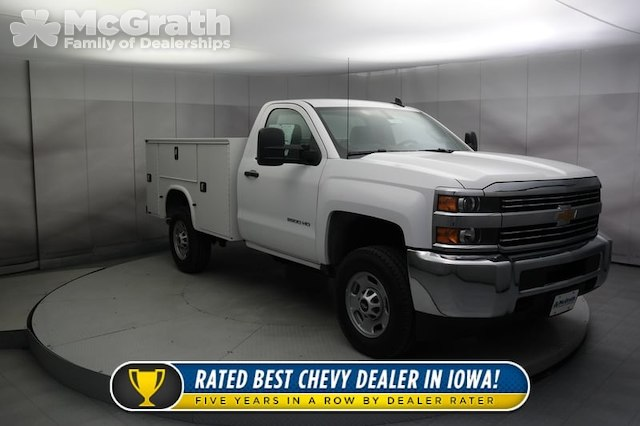 2017 Silverado 2500 Regular Cab 4x4, Knapheide Standard Service Body #C170950 - photo 1
